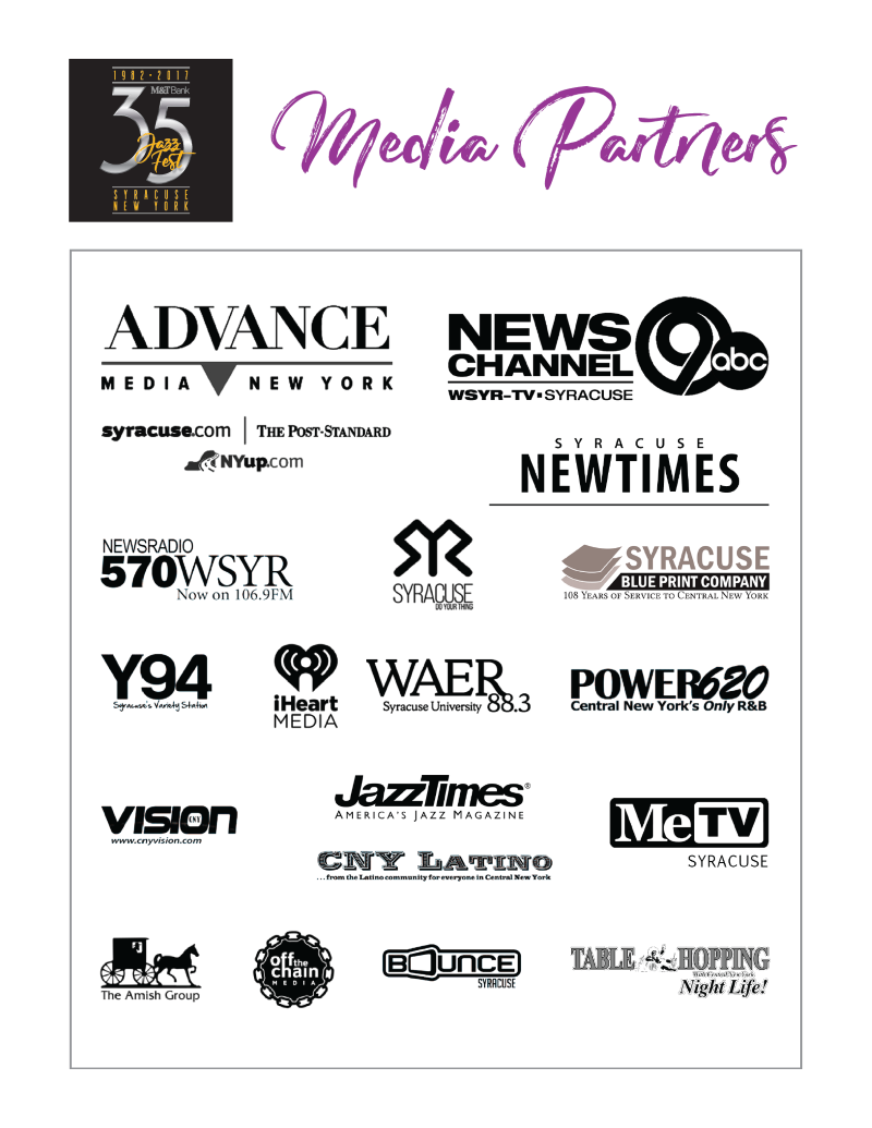 Syracuse jazz fest sponsors sponsors malvernweather Image collections